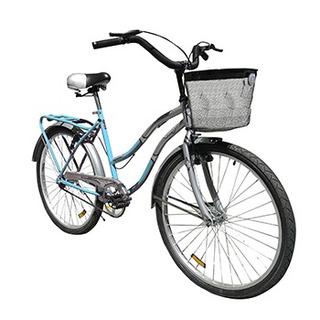 Bicicleta Paseo Dama Tomaselli City26 Turquesa 86-868