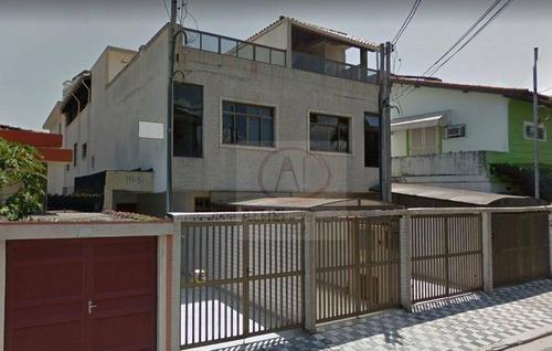 Imagem 1 de 20 de Casa Com 4 Dormitórios À Venda, 252 M² Por R$ 950.000,00 - Aparecida - Santos/sp - Ca1250