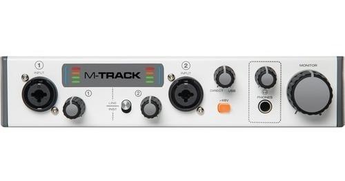 Mtrack Ii  Interface Para Gravação Usb M-audio