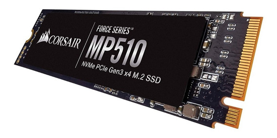 Ssd **m2** Nvme/pcie Corsair Mp510 480gb Force Series 3480mb/s - Curitiba - Nfe