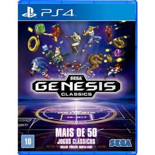 Jogo Sega Genesis Classics Ps4 Playstation 4 Mídia Física