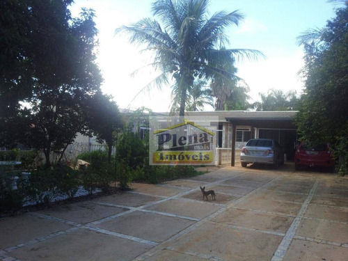 Imagem 1 de 23 de Chácara Residencial À Venda, Chácaras Estância Das Águas, Monte Mor. - Ch0111