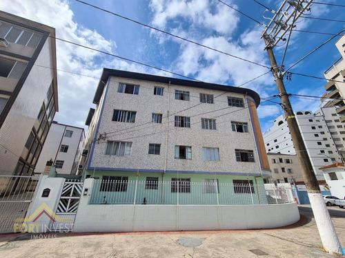 Imagem 1 de 10 de Apartamento Com 1 Dormitório À Venda, 43 M² Por R$ 165.000,00 - Boqueirão - Praia Grande/sp - Ap2626