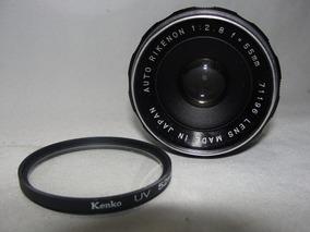 Lente Auto Rikenon 1:2.8 F = 55mm Japan Camera Fotografica