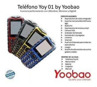 Celular Yoobao Yoy01 Doble Sim Liberado Telefono Economico