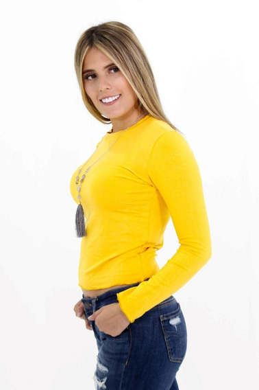 Blusa Mujer Irreal Cuello Redondo 2375 (incluye Collar)