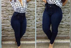 Calça Jeans Capri Sem Stress Xg