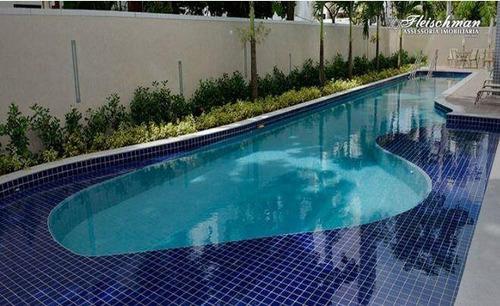 Flat Com 2 Dormitórios Para Alugar, 53 M² Por R$ 3.300,00/mês - Boa Viagem - Recife/pe - Fl0135