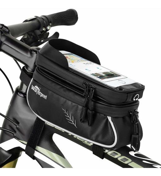 Bolsa De Teléfono Wotow Impermeable P/manillar De Bicicleta