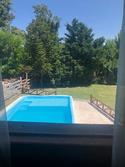 Casa 4 Ambientes C Piscina.barrio Cerrado.2 Baños Completos