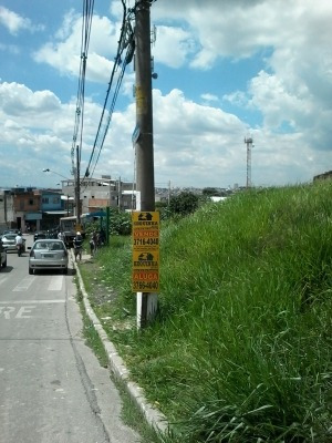 Ref.: 5585 - Terreno Em Carapicuíba Para Aluguel - L5585