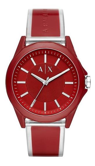 Reloj Armani Hombre Caucho Rojo Tienda Oficial Ax2632