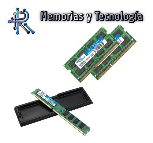 Memoria Ram Ddr3 1066, 1333, 1600mhz 2,4,8gb Pc, Mac, Laptop