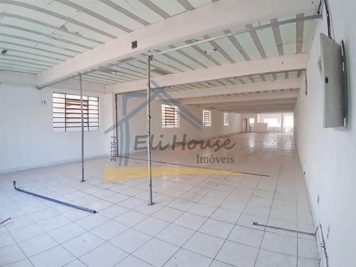 Eli House Imóveis - 26326-j   Salão Comercial/industrial 300m² - Vila Assunção, Santo André - Sl00024 - 69196814