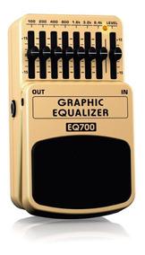 Pedal Equalizador Guitarra Behringer Eq700 Graphic Equalizer