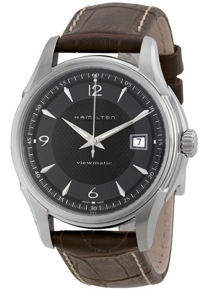 Relogio Hamilton H32515535 Jazzmaster Automatico Marrom