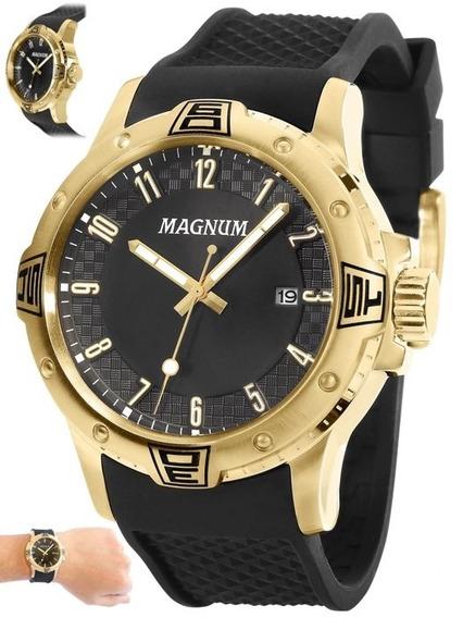 Relógio Magnum Masculino Original Linha Luxo Ma34414u