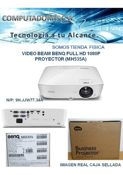 Video Beam Benq Full Hd 1080p Proyector (ms535a)