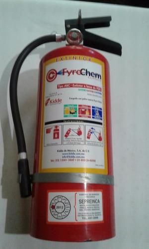 Extintor Pqs De 10 Lbs Fyrechem