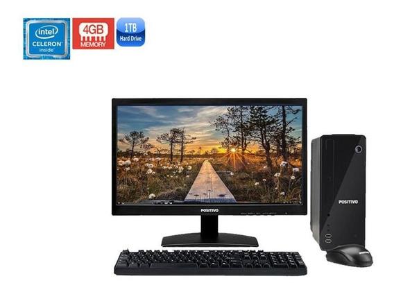 Computador Positivo Stilo C41ta Celeron 4gb Hd 1tb + Wi-fi