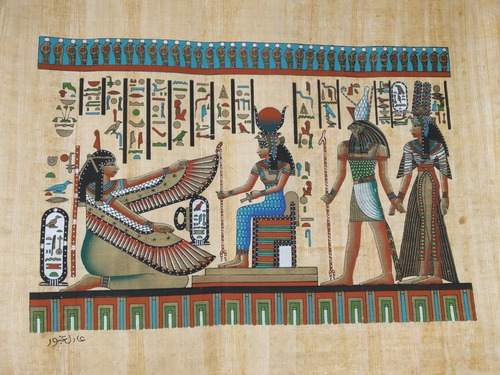 Imagen 1 de 5 de Papiros Egipcios Originales, Traidos Desde Egipto.
