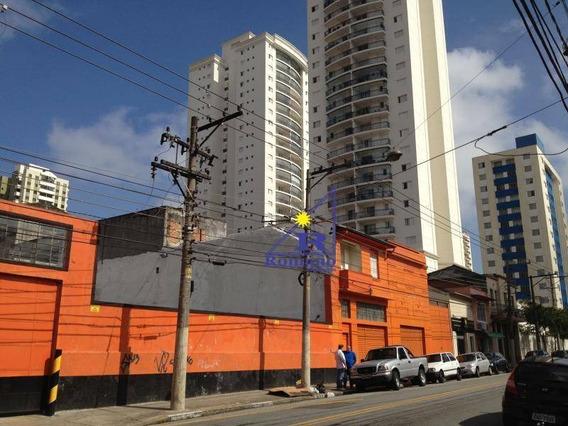 Terreno Comercial À Venda, Moóca, São Paulo. - Te0017