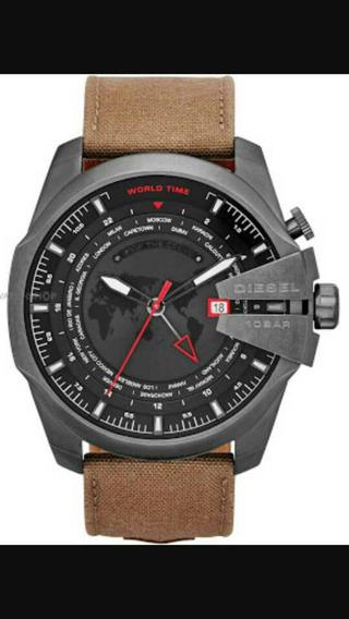 Relógio Diesel 100% Original Com Manual E Nota.