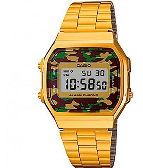Relógio Vintage Military Casio A168wegc-3df
