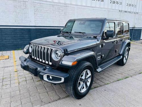 Imagen 1 de 15 de Jeep Wrangler 2019 3.7 Unlimited Sahara 3.6 4x4 At