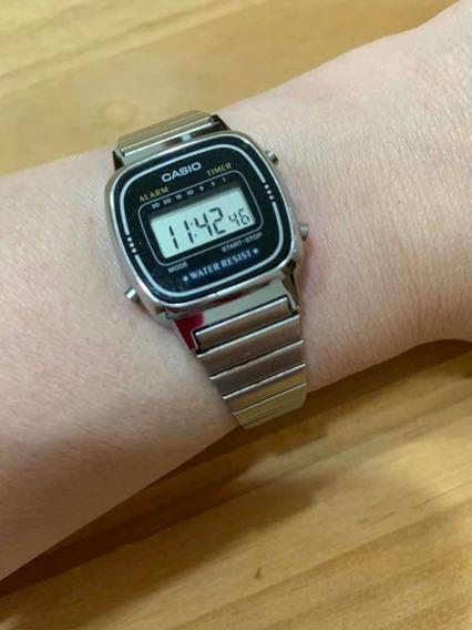 Relógio Casio Feminino Prateado