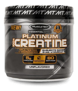 Platinum 100% Creatina Micronized (100g) Muscletech