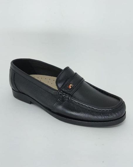 Sapato Mocassim Abc Referência 104 - 107 Produto Em Couro