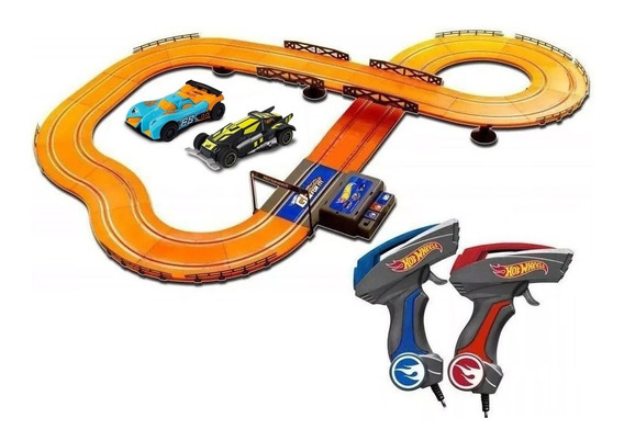 Pista Autorama Hot Wheels Multikids 380cm Com 2 Carrinhos