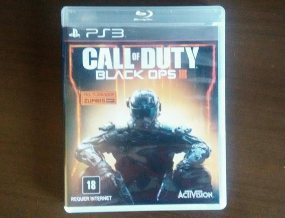 Call Of Duty Black Ops 3 Playstation 3 Ps3 Mídia Física