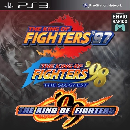 The King Of Fighters Kof 97 98 99 - Playstation 3 Jogos Ps3