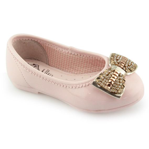 Sapatilha Infantil Rosa Menina Kidy Soft Confort 02703212176