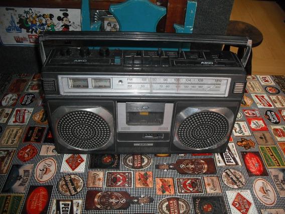 Rádio Gravador Boombox Aiko,fm Am, Aux Atpr 420