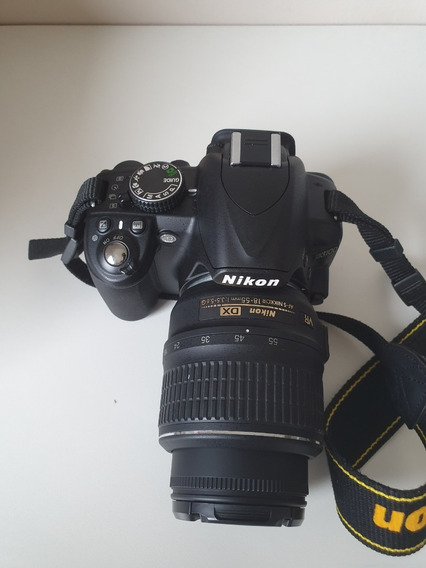 Câmera Nikon D3100 Usada