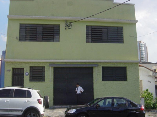 Galpão Comercial Para Venda E Locação, Vila Gomes Cardim, São Paulo. - Ga0023