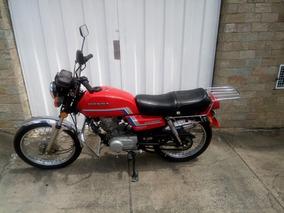 Moto Honda Cg125 1984 Original Para Placa Preta Colecionador