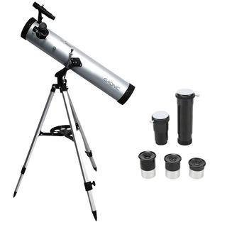 Telescopio Gadnic 700×76 Tripode De Aluminio Aumento 2x