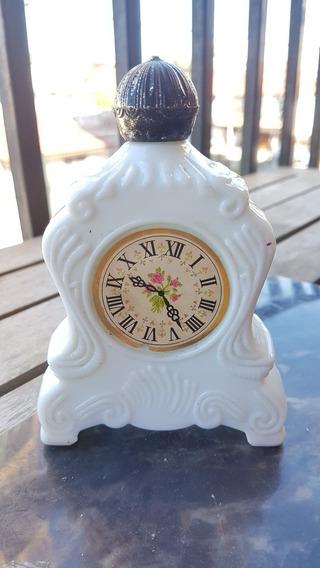 Frasco Vacío Avon Forma De Reloj Antiguo Colonia 150cm3