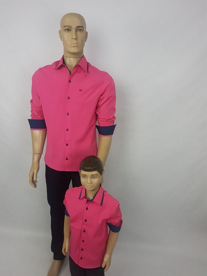 Tal Pai Tal Filho Camisas Lisas Com Ótimo Caimento.
