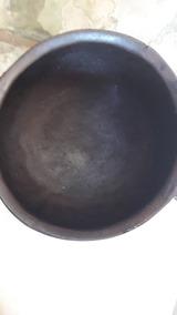 Panela De Ferro Antigo