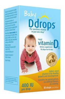 Ddrops 400iu Vitamina D3 60 Gotas