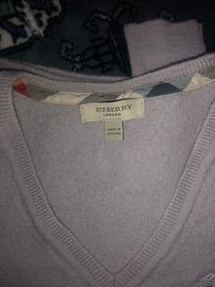 Suéter Unisex De Lana Burberry Original