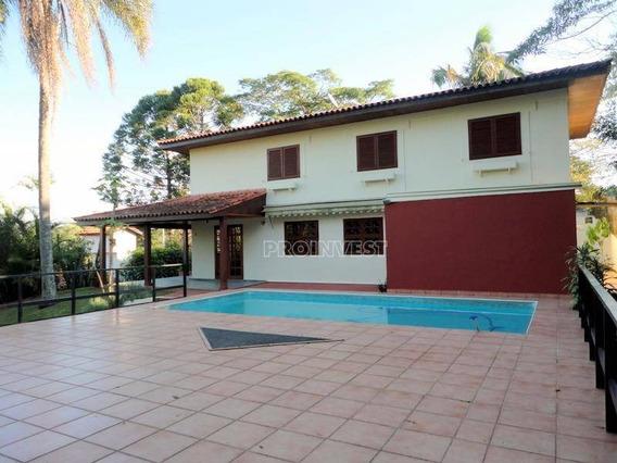 Excelente Imóvel Para Locação Em Condomínio Na Granja Viana. - Ca17212