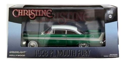 1958 Plymouth Fury Christine - Green Machine Hollywood 1/43