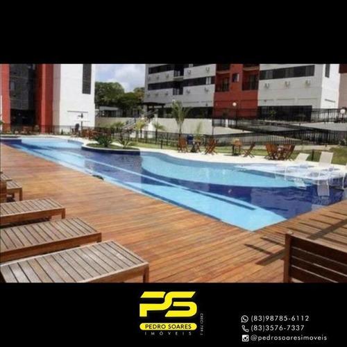 Apartamento Com 3 Dormitórios À Venda, 720 M² Por R$ 300.000 - Torre - João Pessoa/pb - Ap4306