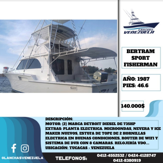Yate Bertram Sport Fisherman 46,6 Lv533